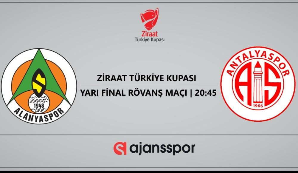 Alanyaspor - Antalyaspor (Canlı Skor)