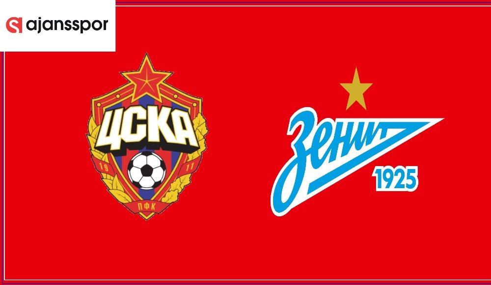 CSKA Moskova - Zenit (Canlı Skor)