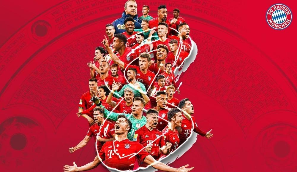 Ebedi şampiyon: Bayern Münih!