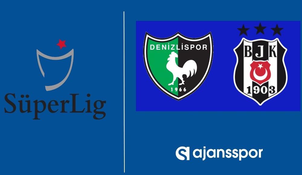 Denizlispor - Beşiktaş (Canlı maç izle)