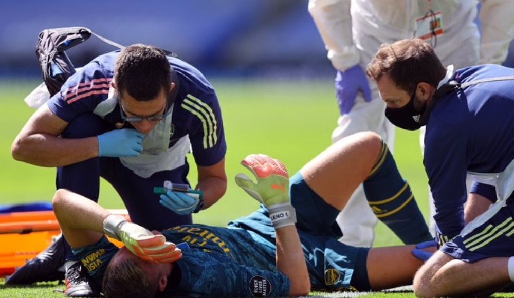 Kendisini sakatlayan futbolcuya tepki gösterdi