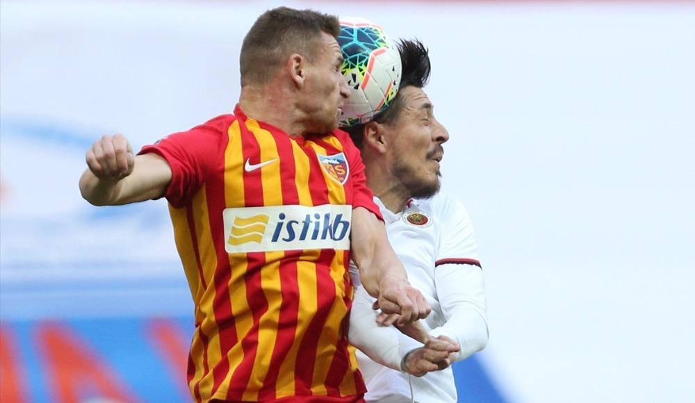 Kayserispor'u golcüleri güldürdü!