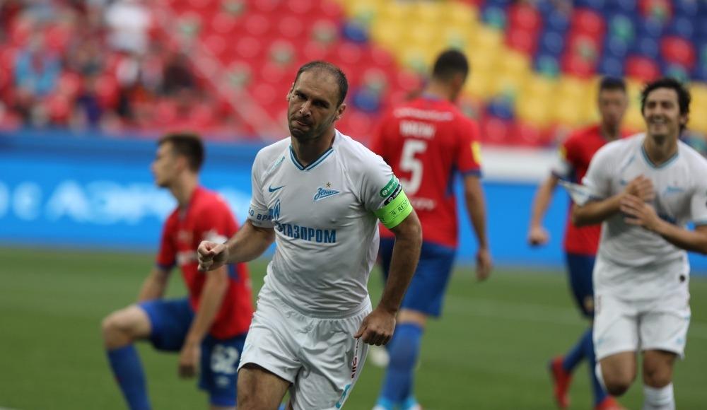 Zenit, CSKA Moskova'yı deplasmanda dağıttı