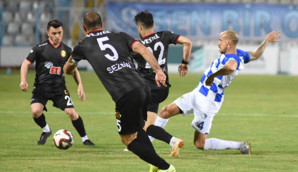Erzurumspor son dakika golüyle kazandı