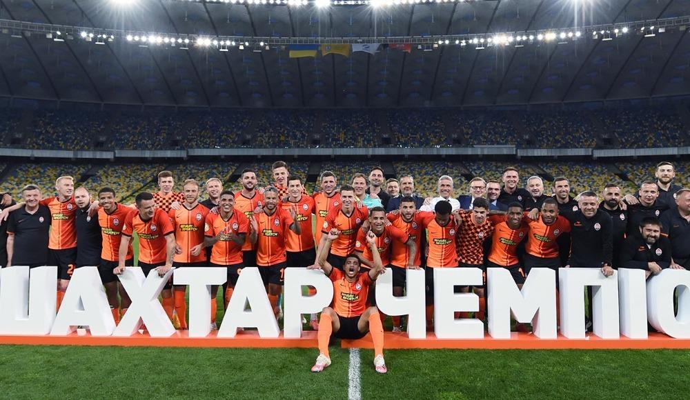 Shakhtar Donetsk şampiyon
