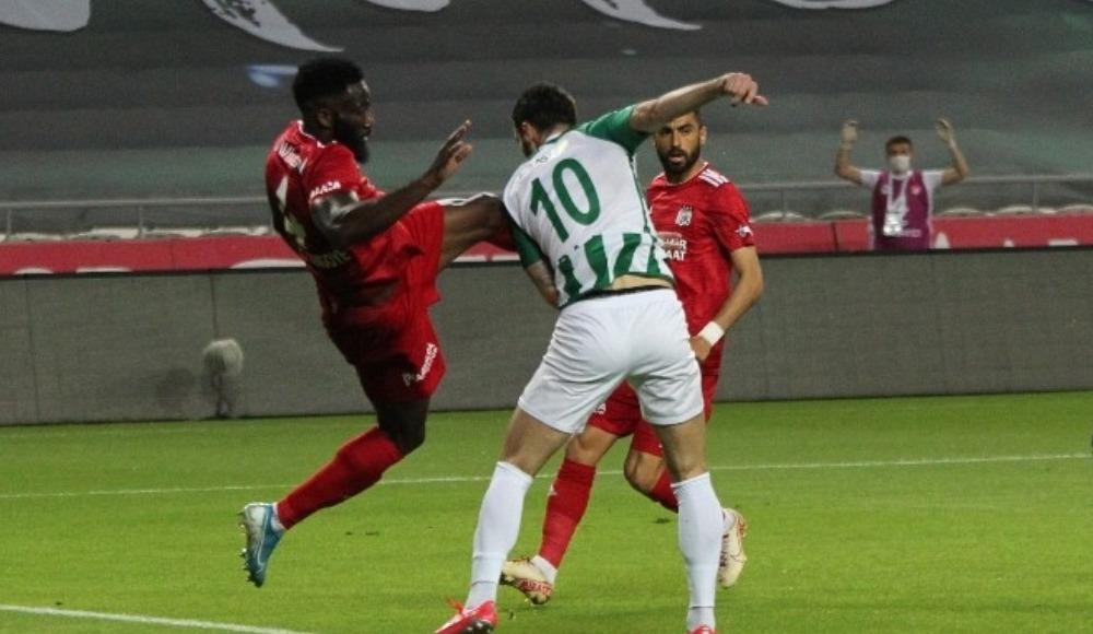 Konya'da puanlar paylaşıldı: 2-2