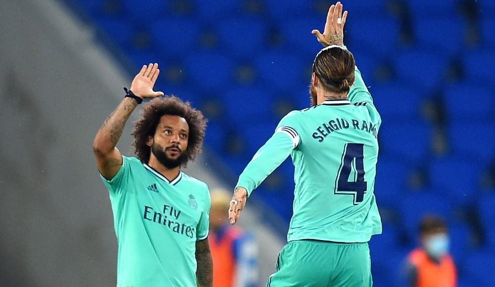Ramos rekor kırdı, Real Madrid zirveyi kaptı
