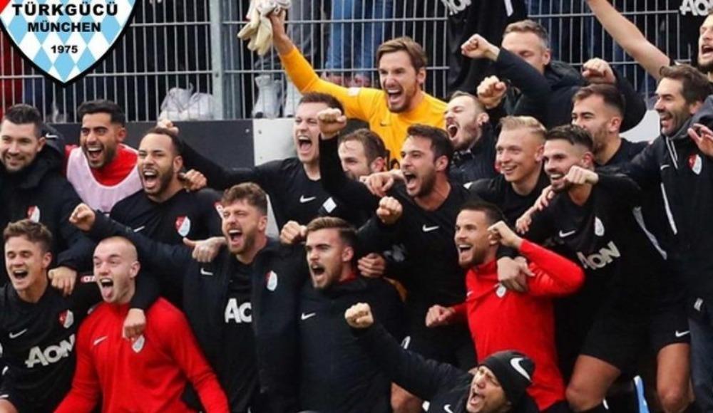 Münih Türkgücü 3. Lig'e yükseldi
