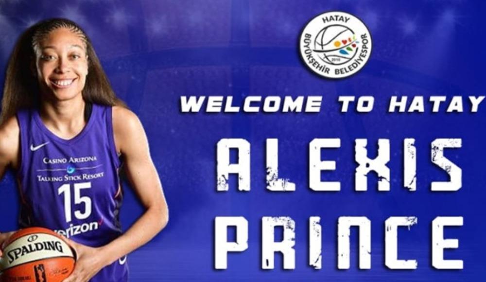 Hatay Büyükşehir Belediyespor, Alexis Prince'i transfer etti
