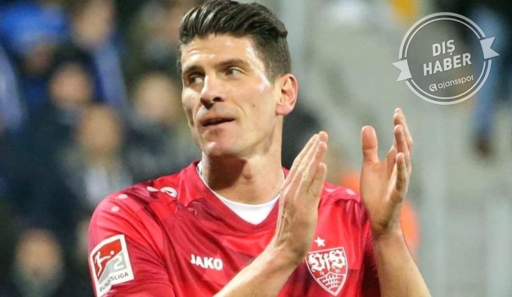 Mario Gomez için acı veda! Stuttgart açıkladı...