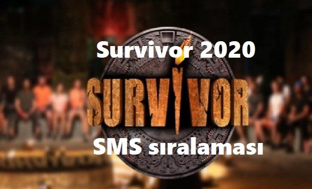 Survivor eleme adayları kim oldu? Geçen hafta sms sıralamaları kaç?