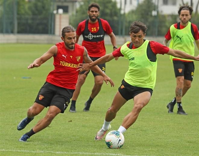Göztepe'de Alanyaspor maçı hazırlıkları sürüyor