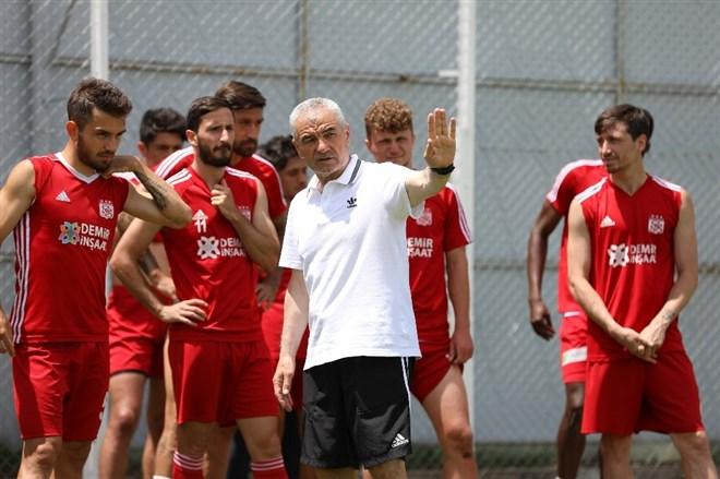 Sivasspor'da Kayseri maçı hazırlıkları başladı
