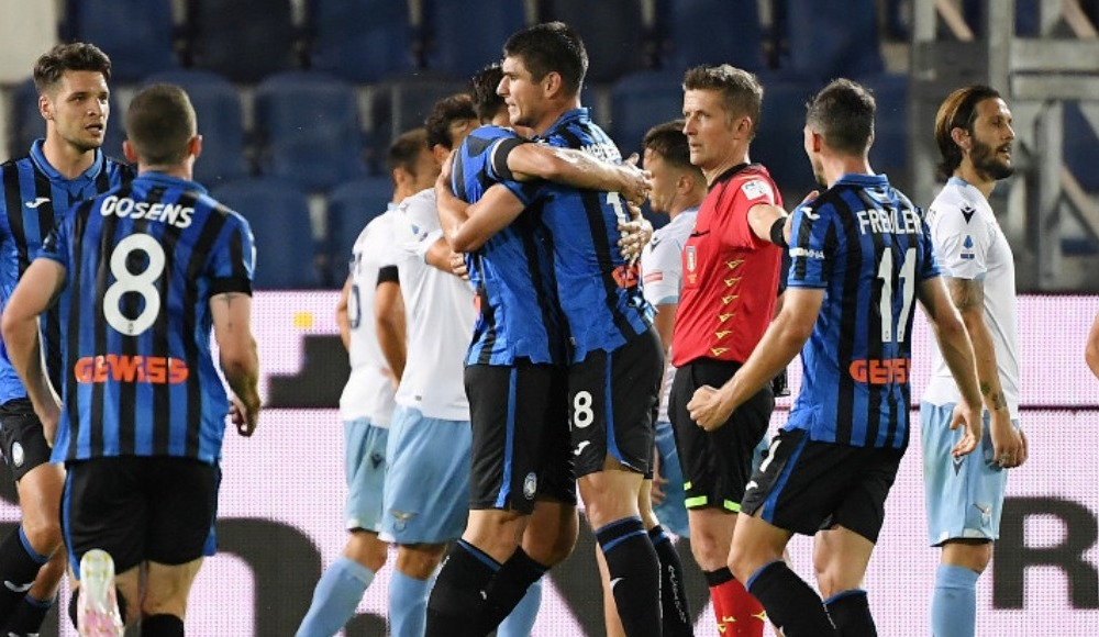 Lazio'ya zirve yolunda darbe! Atalanta'dan geri dönüş...