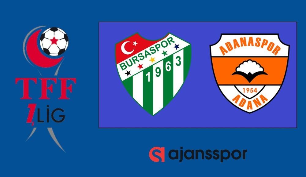 Bursaspor - Adanaspor (Canlı Skor)