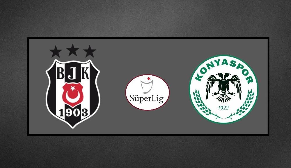 Beşiktaş - Konyaspor (Şifresiz maç izle)