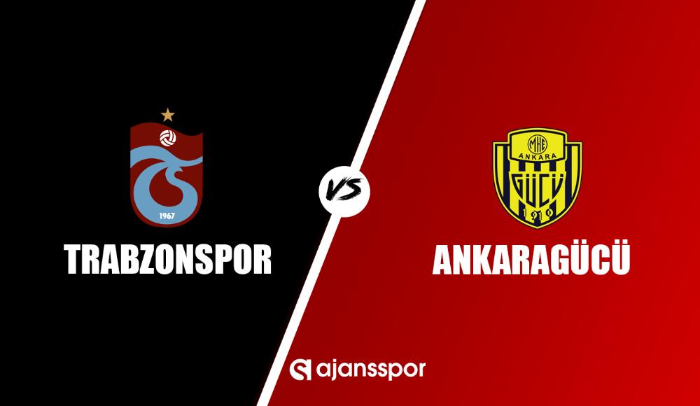 Trabzonspor - MKE Ankaragücü (Canlı Skor)