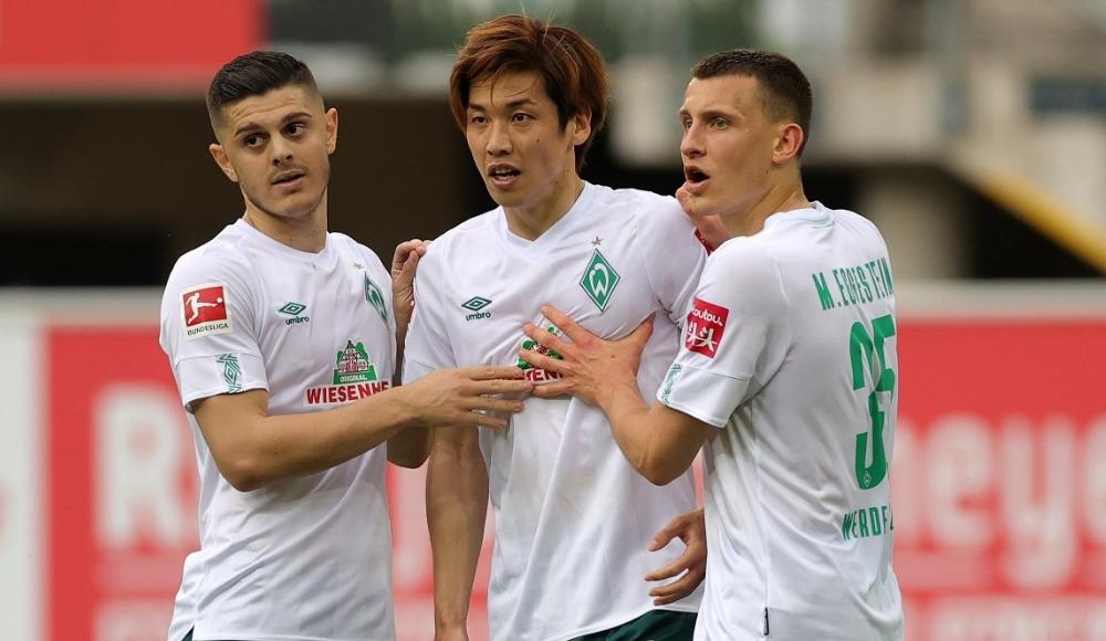 Werder Bremen şov yaptı, play-out'a kaldı
