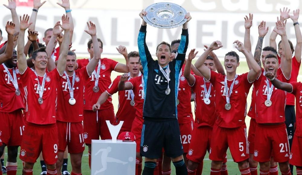 Bayern Münih 100 ile bitirdi
