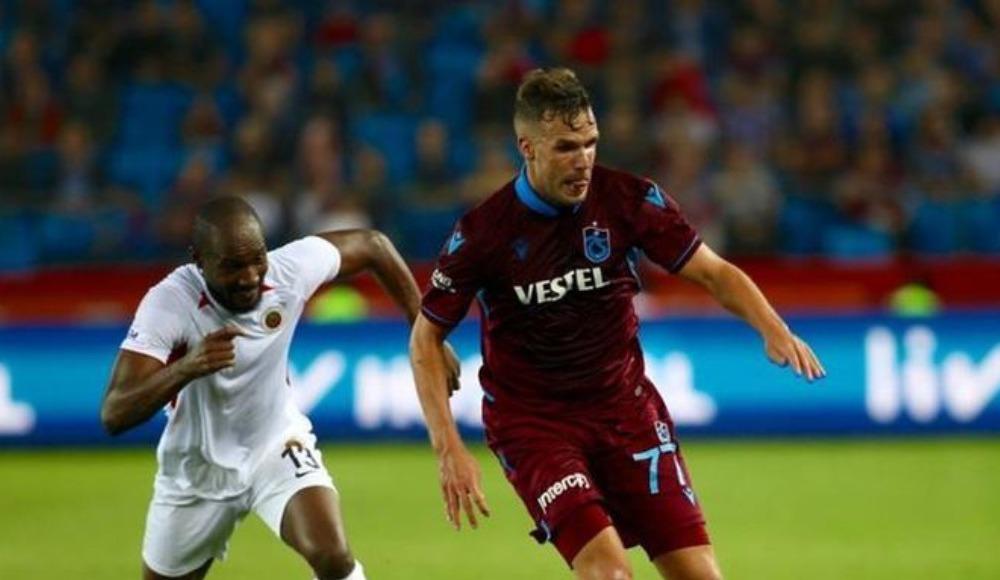 Trabzonspor'da Pereira, Galatasaray maçında cezalı