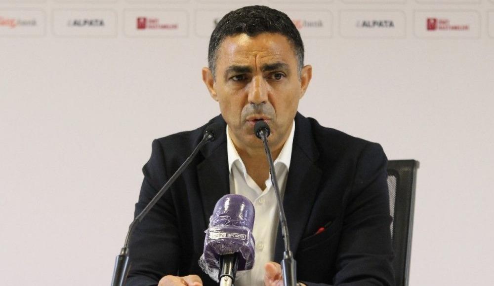"""Mustafa Özer: """"İyi mücadele ettik ama mağlup olduğumuz için üzgünüz"""""""