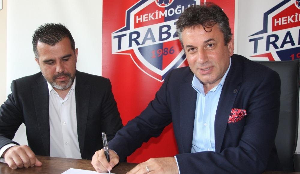 Hekimoğlu Trabzon, Mustafa Alper'in sözleşmesini uzattı