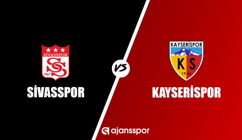 Sivasspor - Kayserispor (Canlı Skor)