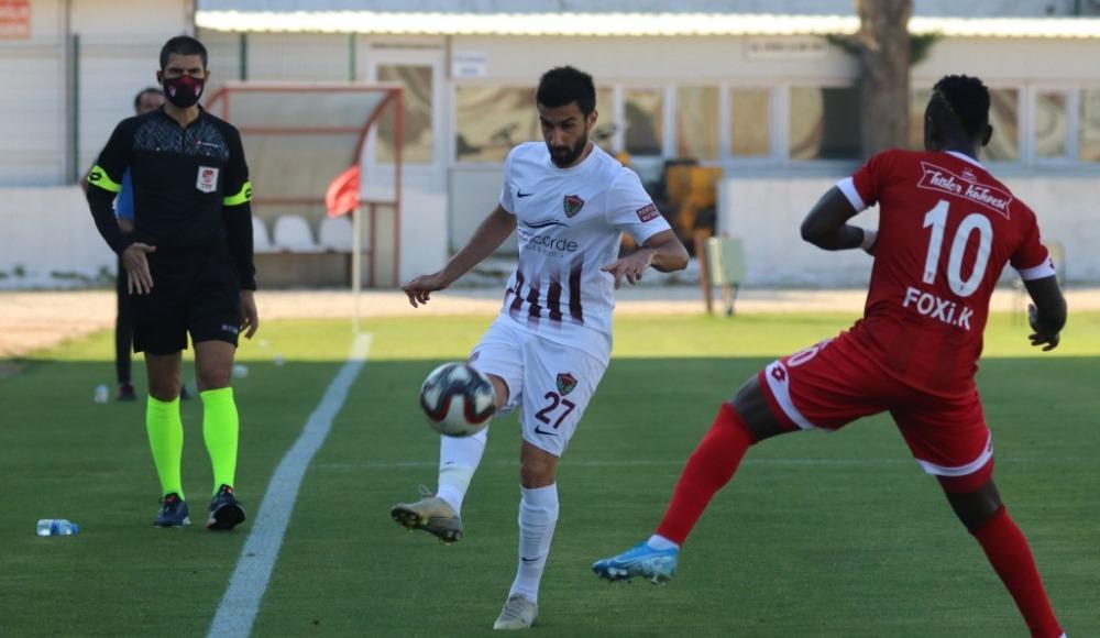 Lider Hatayspor, Balıkesirspor engelini geçti! 2-0...