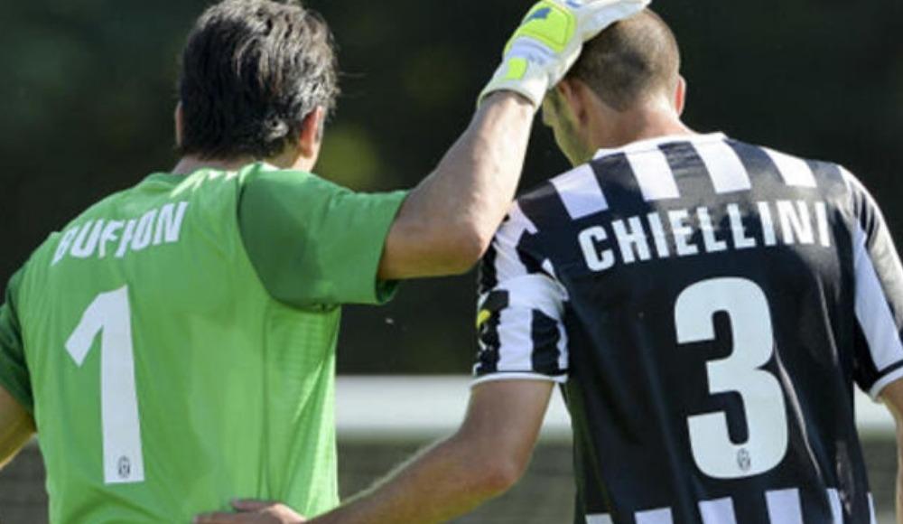 Juventus Buffon ve Chiellini'yi bırakmadı