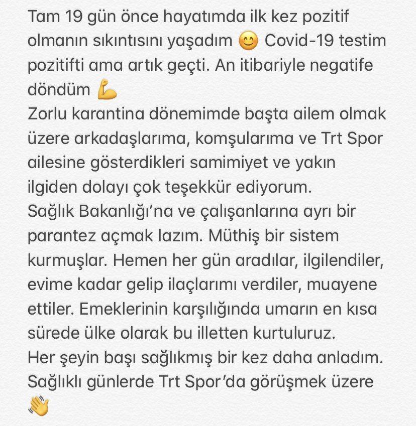 Akdemir'in paylaşımı: