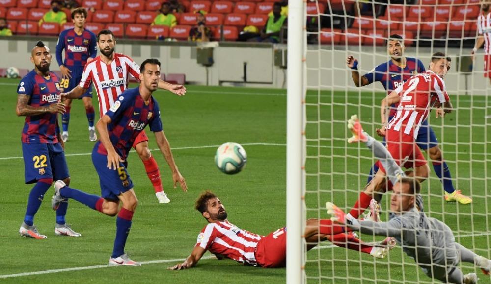 Barcelona, Atletico'ya takıldı; Real'e gün doğdu