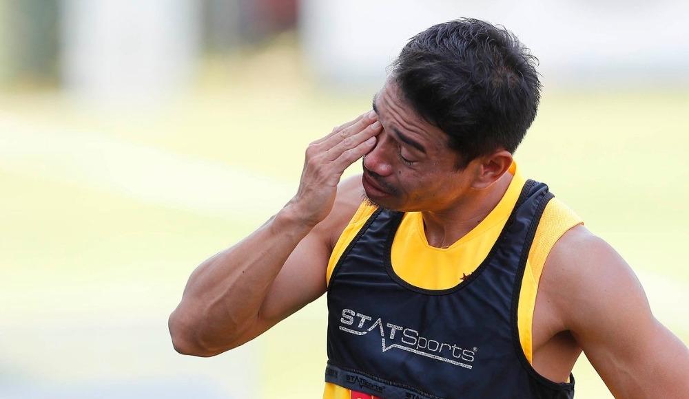 Nagatomo gözyaşları ile veda etti