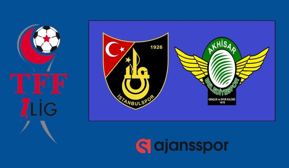 İstanbulspor - Akhisarspor (Canlı Skor)