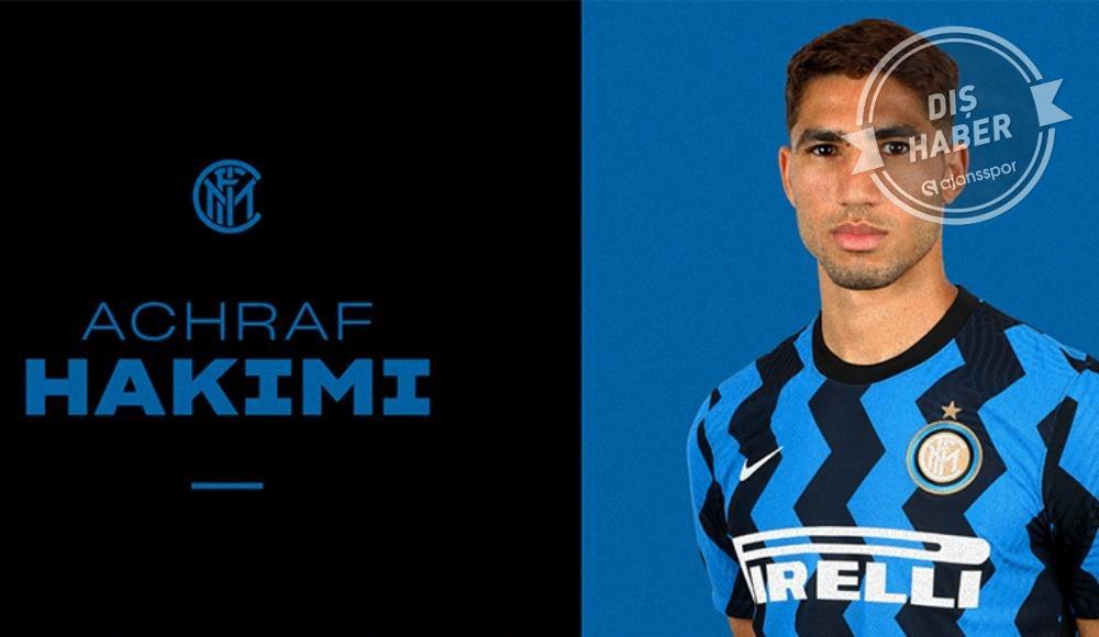 Achraf Hakimi Inter'de