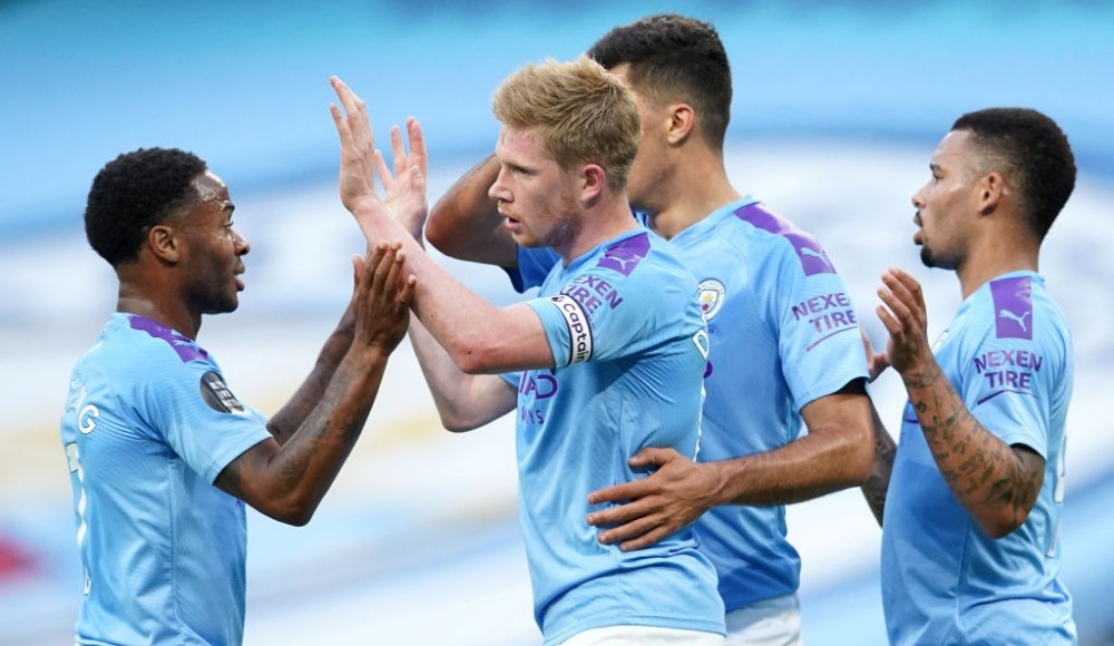 Manchester City, şampiyon Liverpool'u üzdü! 4-0