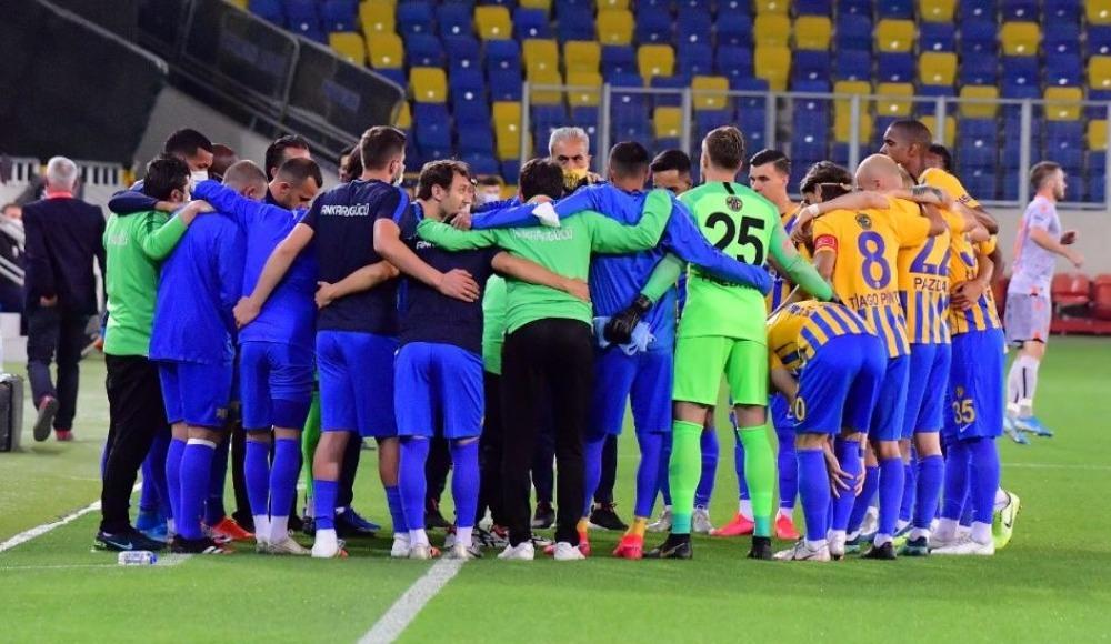 Ankaragücü, Alanyaspor maçı öncesi kenetlendi
