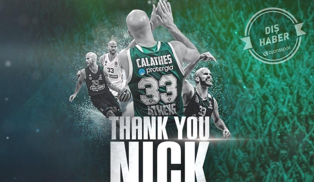Nick Calathes, Panathinaikos'tan ayrıldı