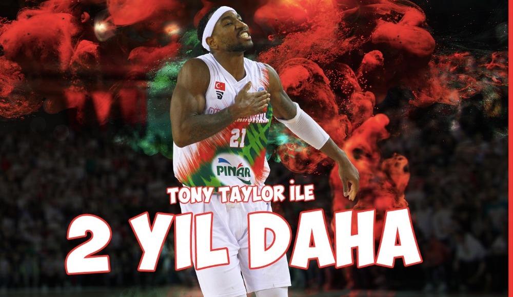 Pınar Karşıyaka, Tony Taylor'la yeni sözleşme imzaladı