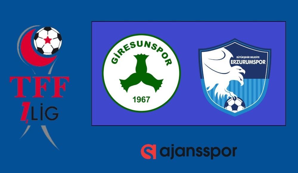 Giresunspor - BB Erzurumspor (Canlı Skor)