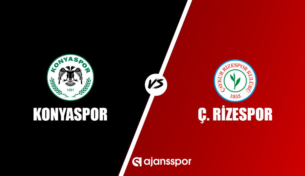 Konyaspor - Çaykur Rizespor (Canlı Skor)
