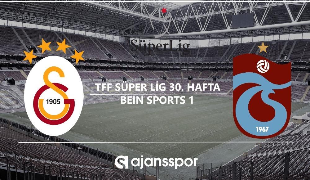 Galatasaray - Trabzonspor (Canlı maç izle)