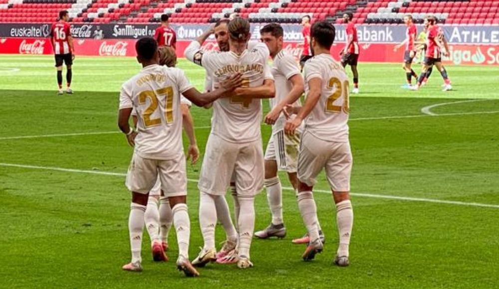 Sergio Ramos, Real Madrid'i taşımaya devam ediyor!