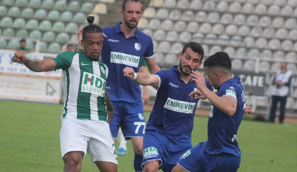 Giresunspor, play-off iddiasını kaybetti