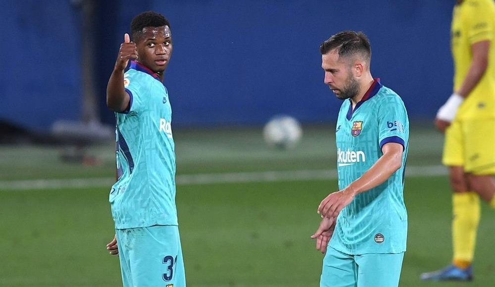 Barcelona Villarreal'e patladı, Fati tarih yazdı