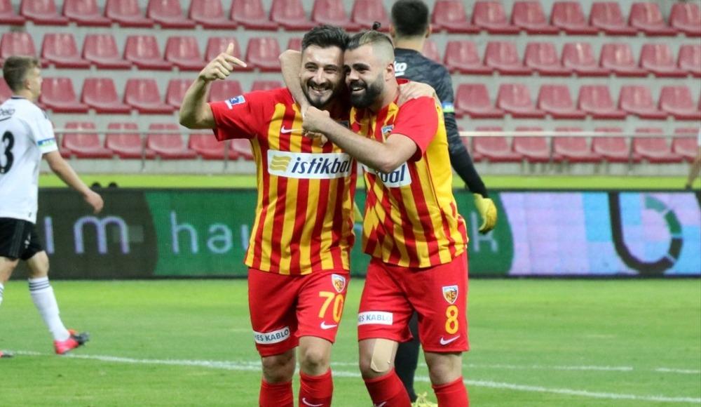Kayserisporlu oyuncular Beşiktaş galibiyetini değerlendirdi