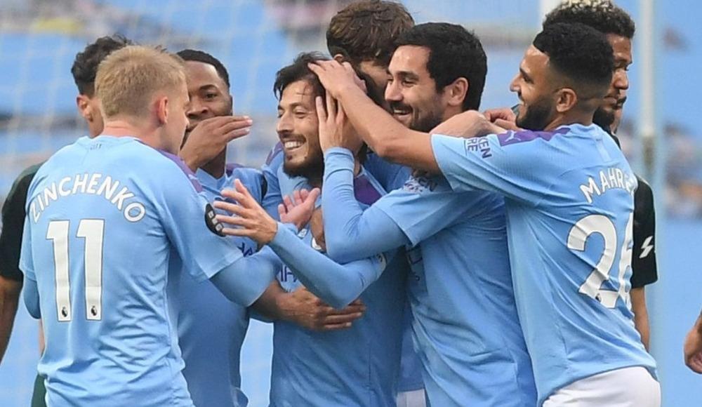 Manchester City güle oynaya kazandı