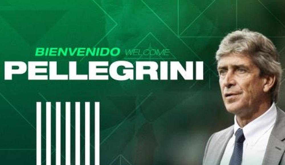 Betis Manuel Pellegrini'yi açıkladı