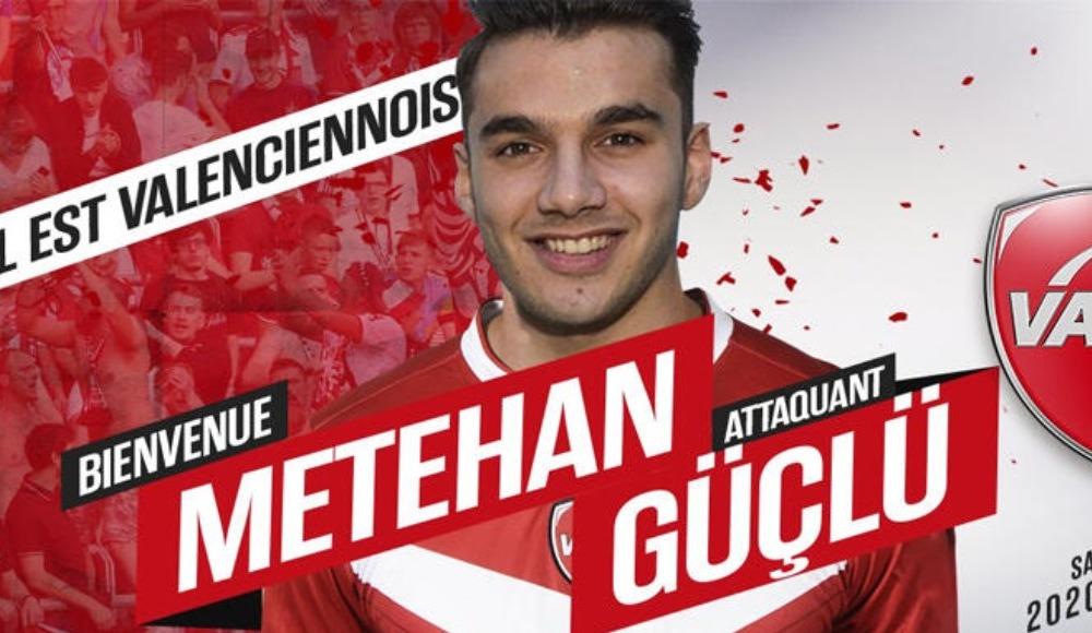 Valenciennes, Rennes'den golcü futbolcu Metehan Güçlü'yü kiraladı
