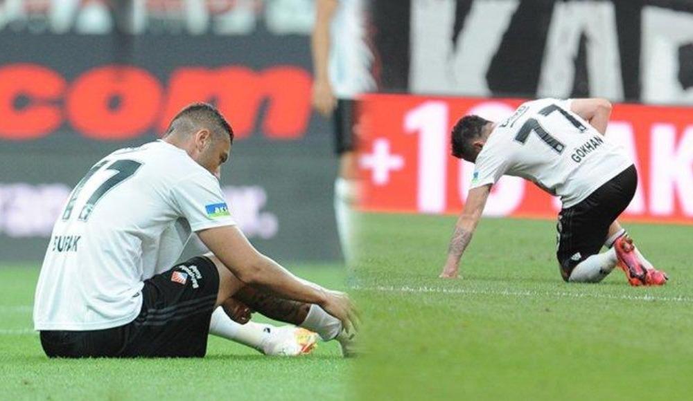 Beşiktaş'tan son dakika Gökhan ve Burak açıklaması