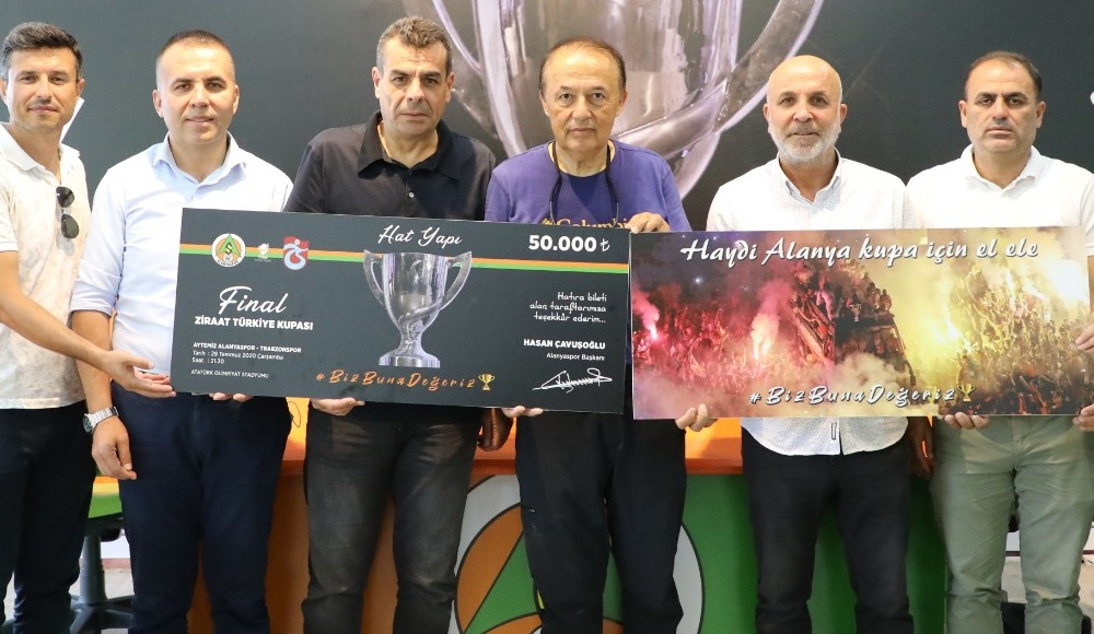 Alanyaspor kupa finali için 'hatıra bilet' kampanyası başlattı